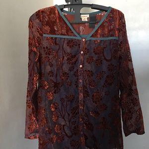 Sundance Velvet Shirt